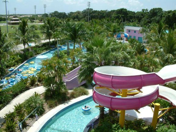 Slide and Lazy River